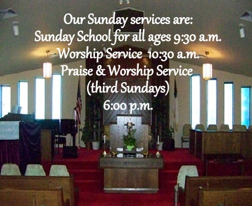 Our Sunday Services